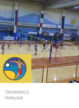 trainings volley